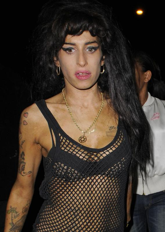 Amy Winehouse Is a Raucous Role Model