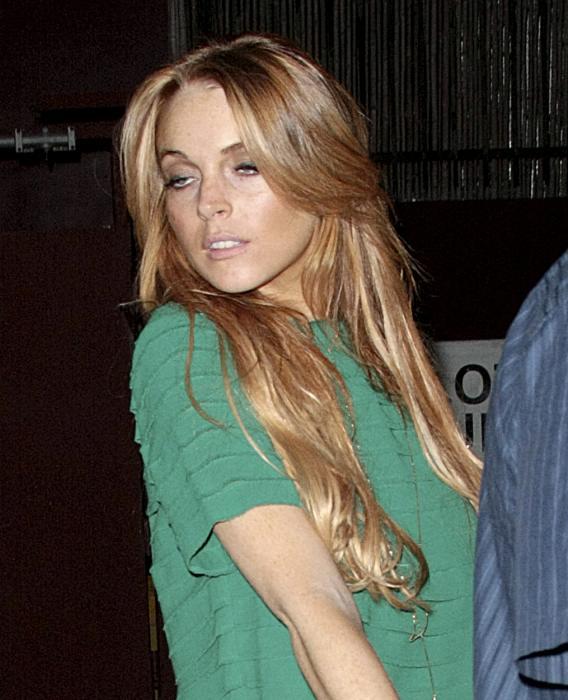 Lindsay Lohan: Rotten-Drunk at Apple Bash?