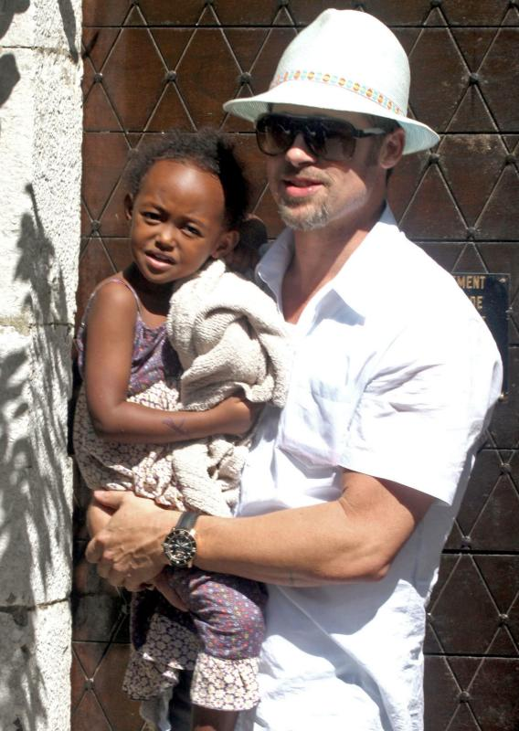Brad Pitt Bores the Hell out of Zahara