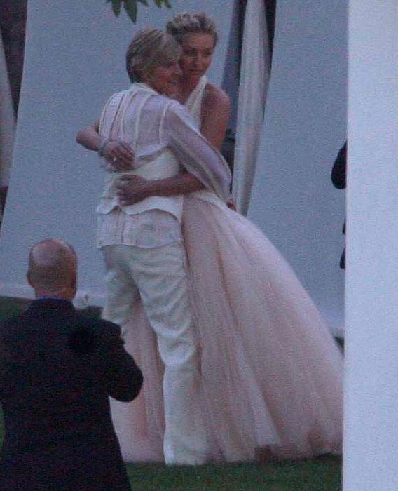 Portia de Rossi and Ellen DeGeneres Tie Gay Knot