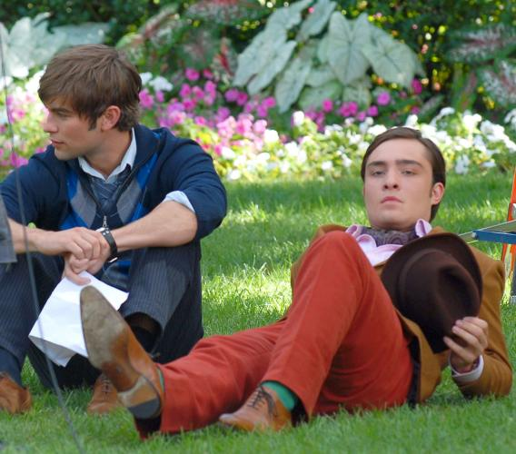 Chace Crawford, Ed Westwick: Splendor in the Grass