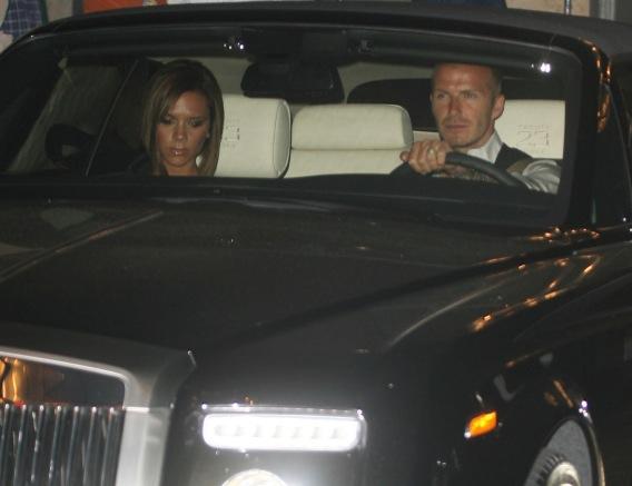 David and Victoria Beckham: Crash or no Crash