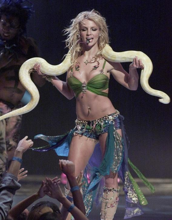 Britney Spears Won't Try And Top Last Year's VMA Glory