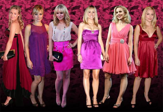 Kristen Bell: Pretty In Pink
