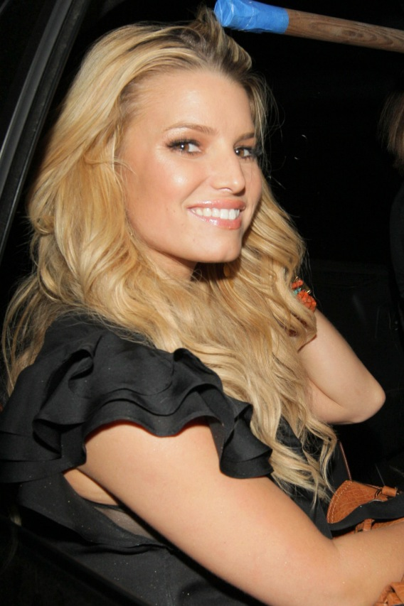 Jessica Simpson Almost Piped Down Once
