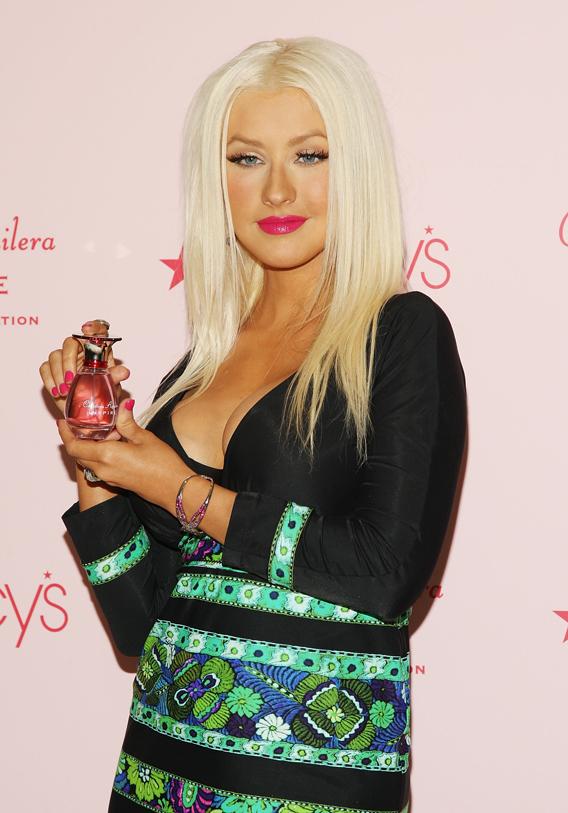 Christina Aguilera's Inspired Wardrobe