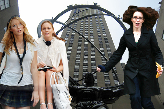 Tina Fey to 'Gossip' with the Girls on '30 Rock'