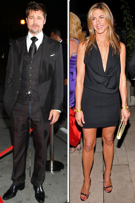 Jennifer Aniston and Brad Pitt: Dinner Date?