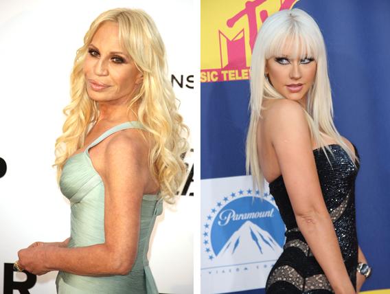 Christina Aguilera: Donatella Versace's Kin?
