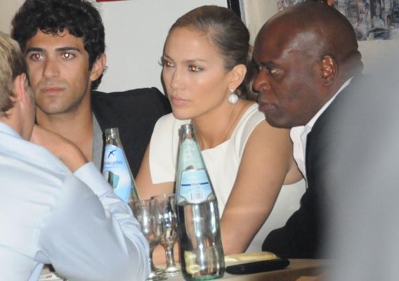 Nicole Richie and Jennifer Lopez: Dining Pals