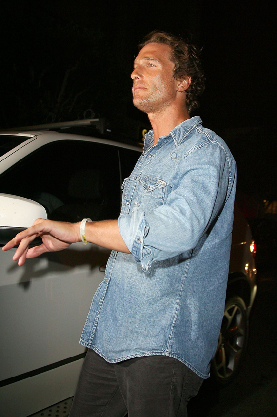 McConaughey's Neighbors Have a Drinking Problem