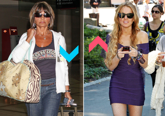 Winner Vs. Loser: Lindsay Lohan Beats Lynne Spears