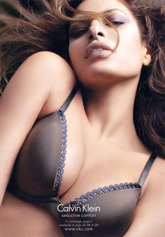 Calvin Klein Supports Eva Mendes