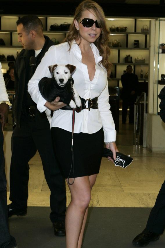 Mariah Carey: No Pooper-Scooper Trouper