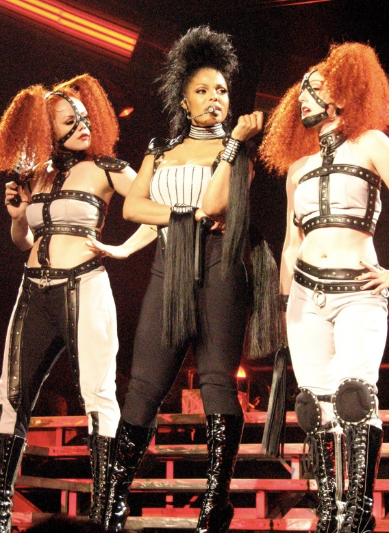 Janet Jackson's Clothes Encounters