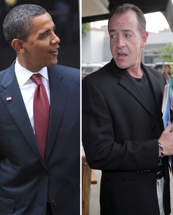Michael Lohan Takes On Obama