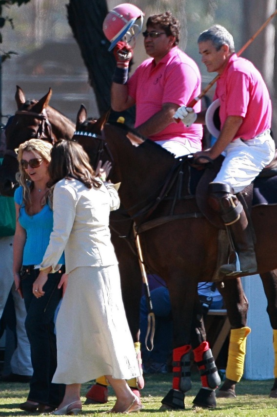 Britney Spears Is a Polo Girl