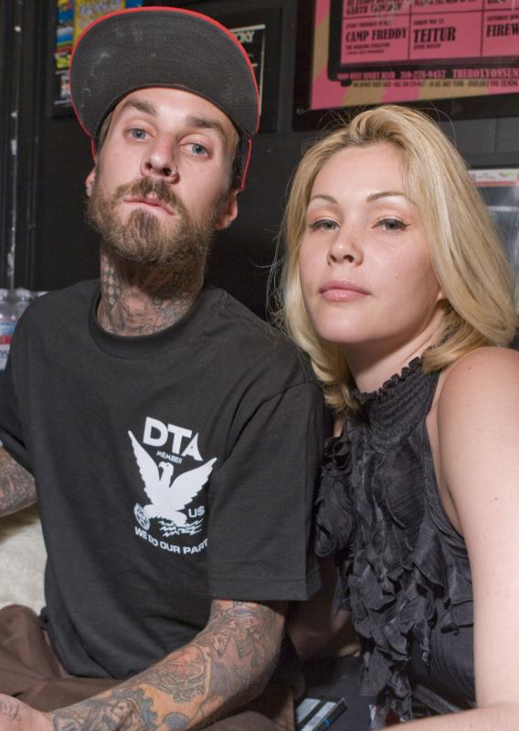 Travis Barker and DJ AM Visited by Their Exes
