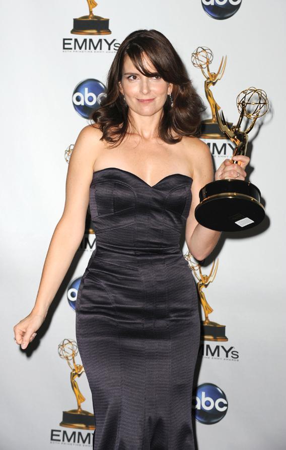 Tina Fey Wins Emmy, Loses Purse