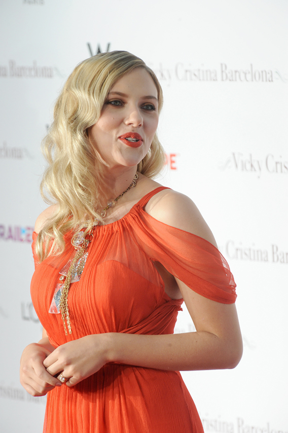 Scarlett Johansson: Not The Statue Of Liberty