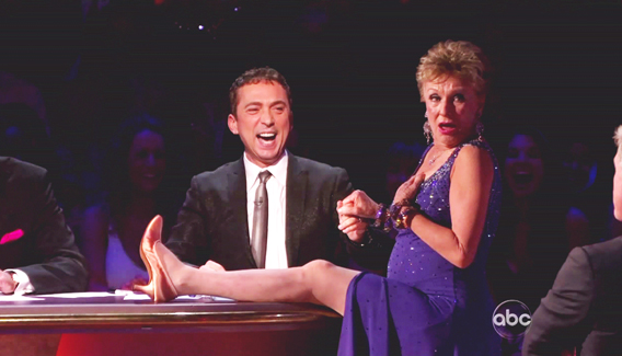 'Dancing With the Stars': The Old Ladies Were Randy