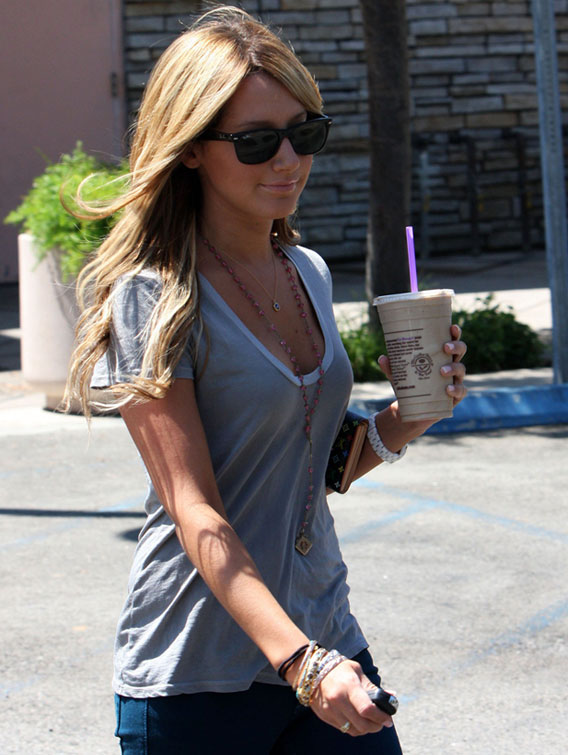 Ashley Tisdale: I Love My…Coffee Bean