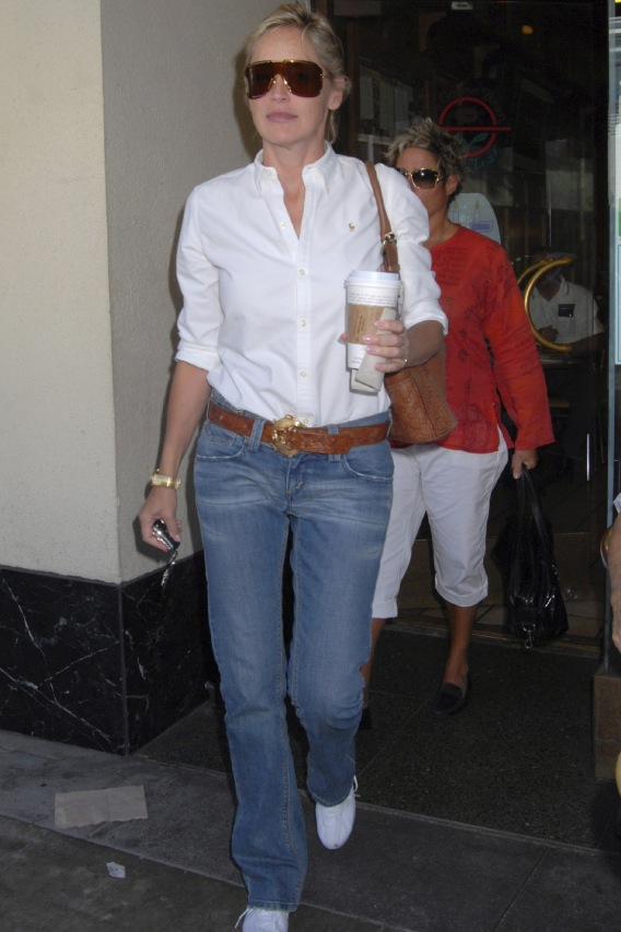 Sharon Stone: No Custody, But Plenty of Coffee