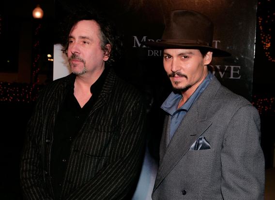 Johnny Depp and Tim Burton