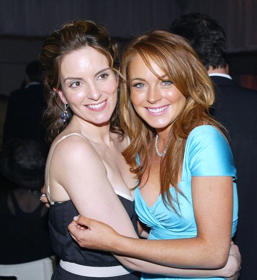 Tina Fey Loves Lindsay Lohan