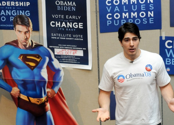Superman Says, 'Vote Obama!'