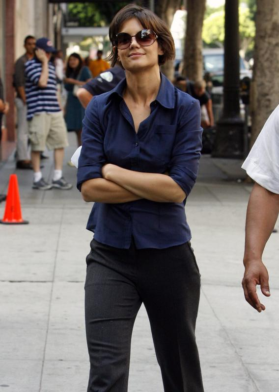 Katie Holmes Goes 'Chicago' For 'Eli Stone'