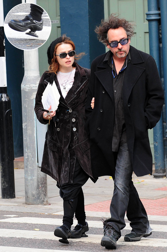 Helena Bonham Carter Springs Into Action