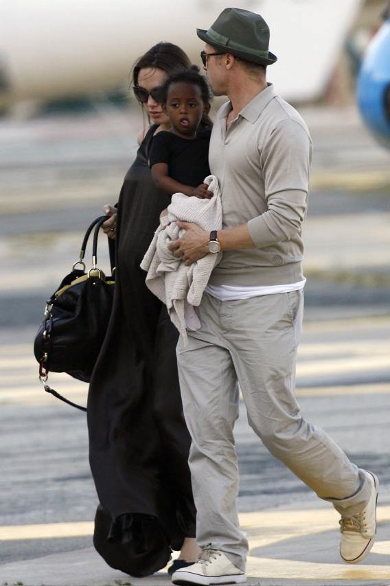 Brad Pitt and Angelina Jolie: Adoption Addicts