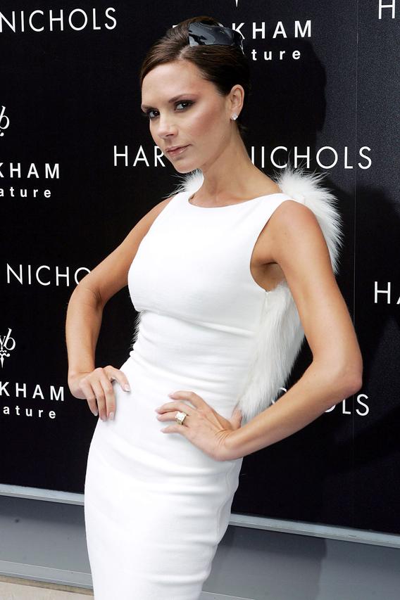 Victoria Beckham Gets Goopy