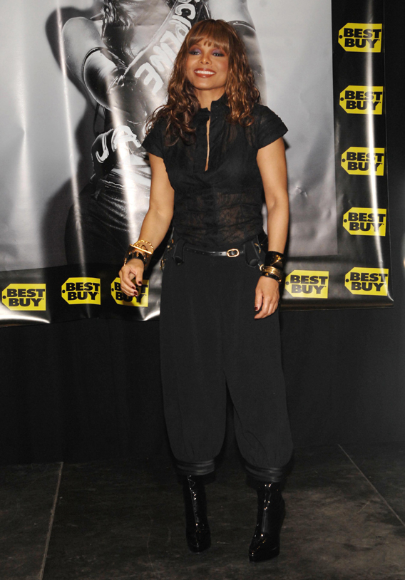 Janet Jackson Released from the Hospital