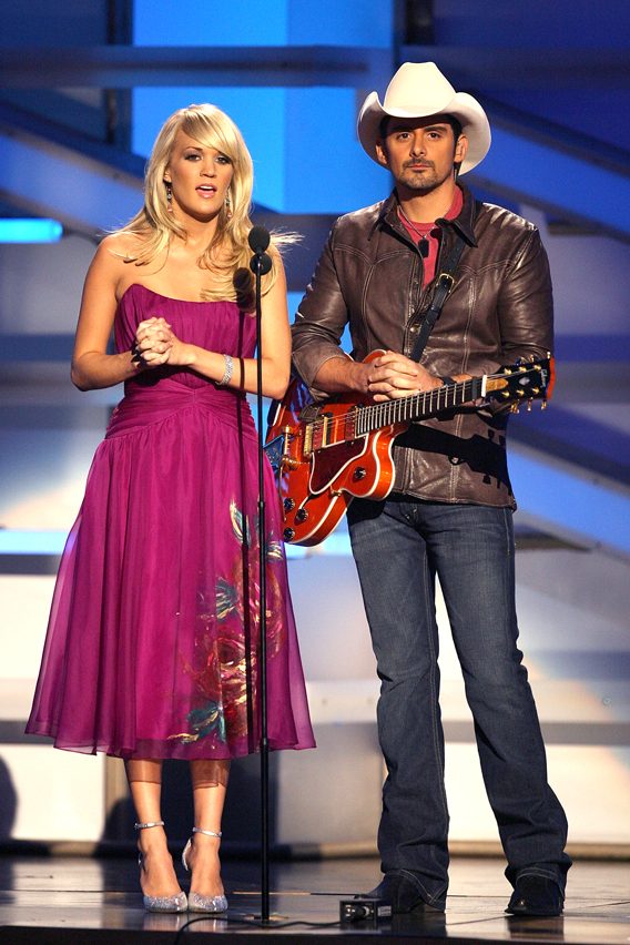 Carrie Underwood and Brad Paisley to Host CMAs