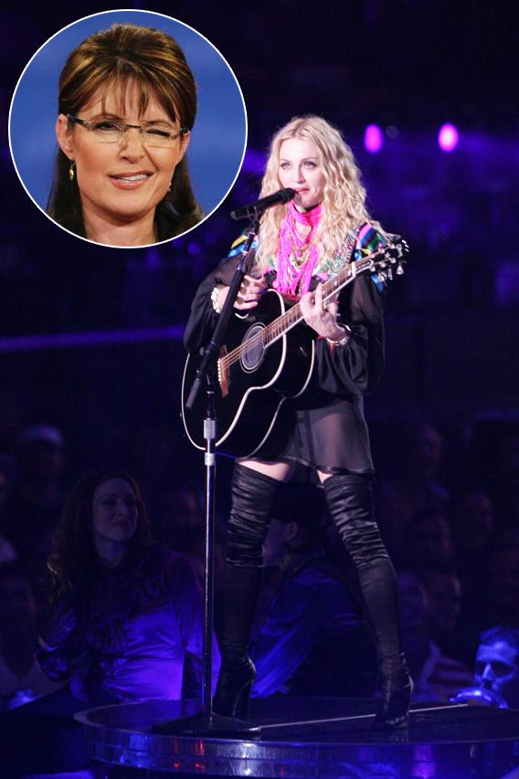 Madonna to Sarah Palin: 'Stay Away!'