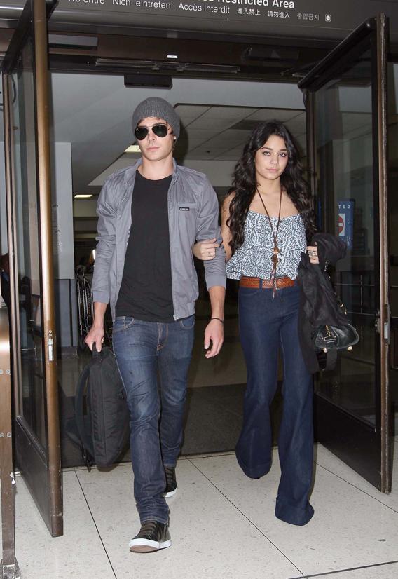 Zac Efron and Vanessa Hudgens: Home Again