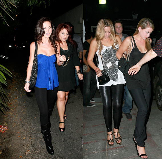 LC & Audrina: On Camera Confrontation