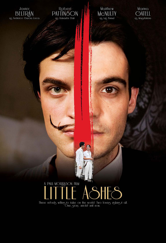 Sneak Peak at Robert Pattinson's Next Flick: 'Little Ashes'