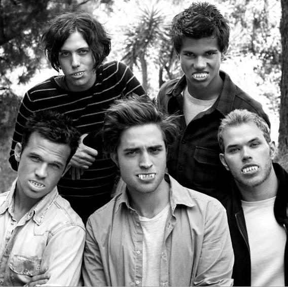 'VMan' Stylizes the Men of 'Twilight'