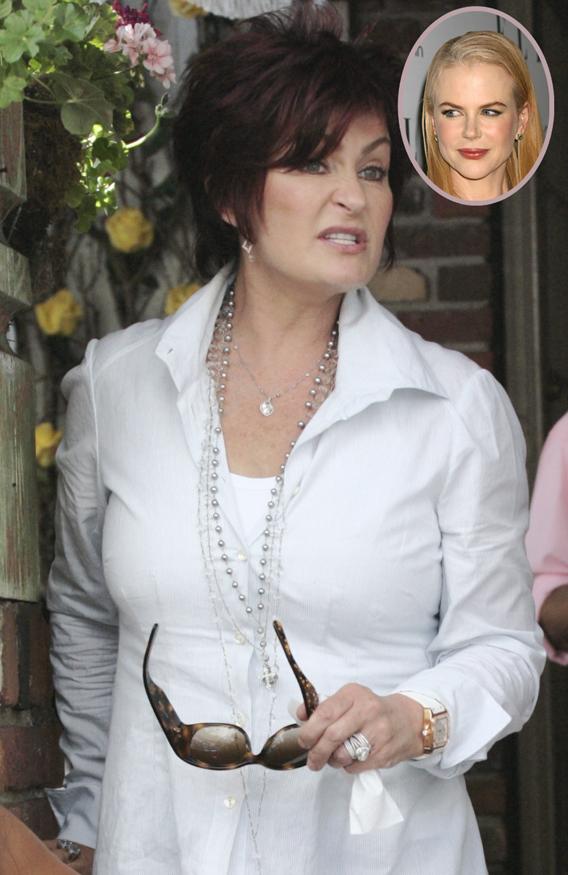 Sharon Osbourne Calls Out Nicole Kidman's Face