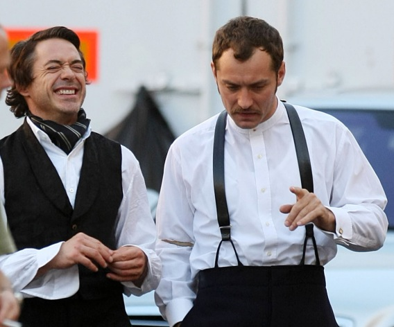 Robert Downey Jr. and Jude Law: Slick Sleuths