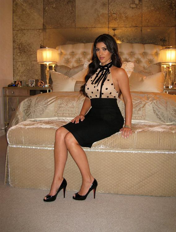 Trend Spotting With Kim Kardashian: Bedroom Dress-Up