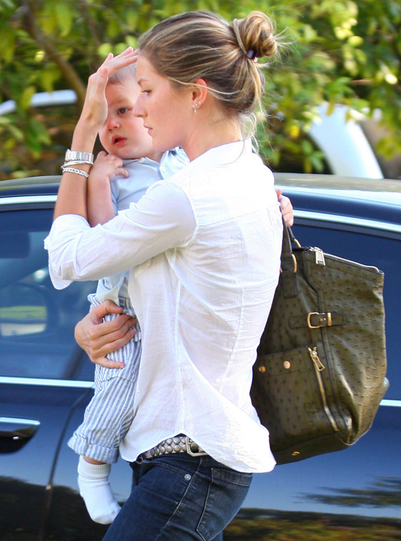 Gisele Bunchen: Practicing for Motherhood?