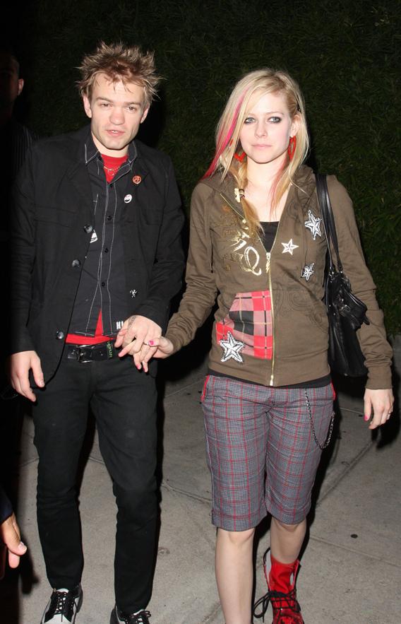 Deryck Whibley and Avril Lavigne: Deny, Deny, Deny