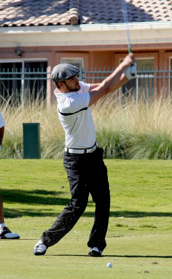 Justin Timberlake, Charitable Swinger