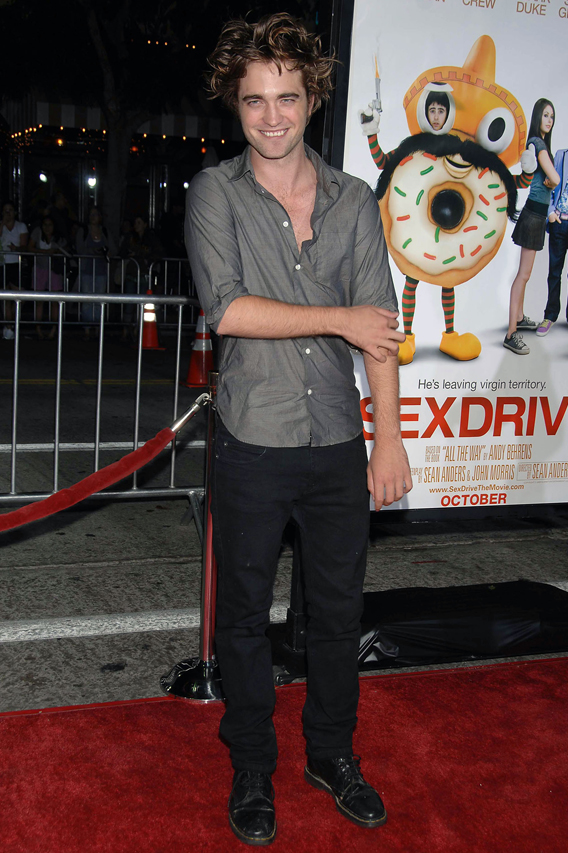 Robert Pattinson Knocks on Johnny Depp's Door