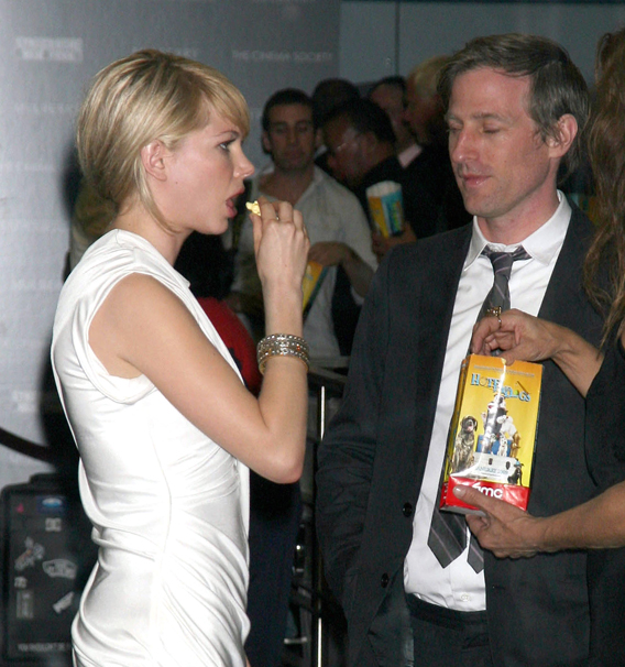 Movie Night for Michelle Williams and Spike Jonze