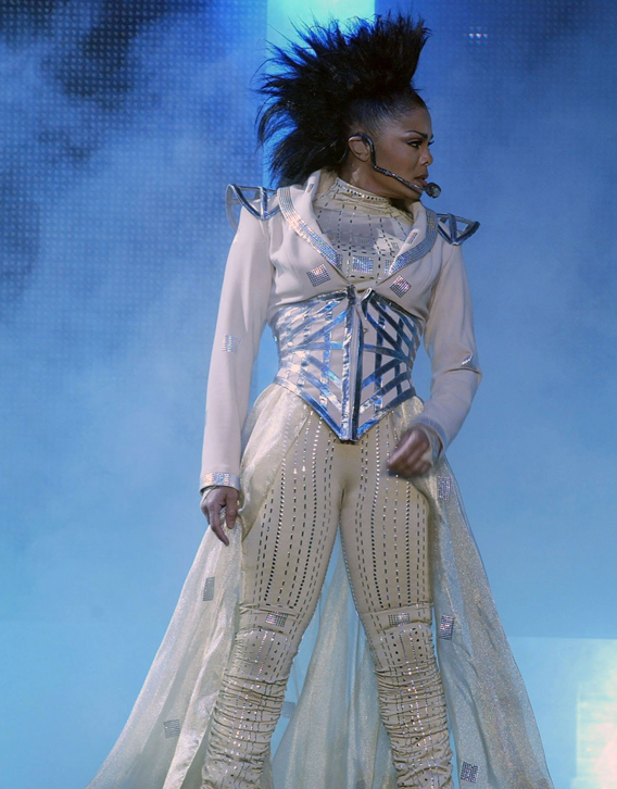 Janet Jackson Stages a Comeback